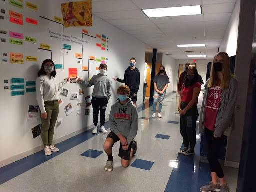 Spanish II period 5 in-person learners