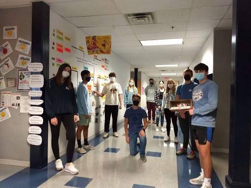 Spanish IV period 3 in-person learners